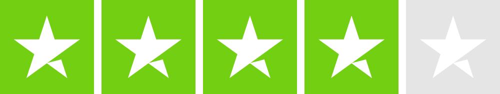 Trustpilot 4 star